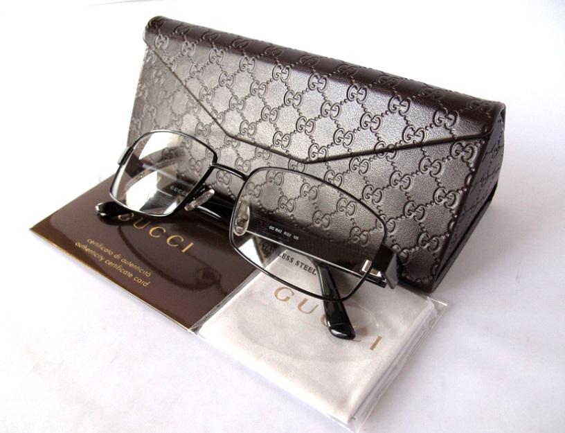 a06f898d2452 New GUCCI Eyeglasses frame GG1942 RQ2 Black 53mm + Case