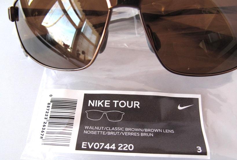 5f43d0f8690 NEW NIKE TOUR EV0744 220 Metal Walnut w  Max Optics Golf Mens ...