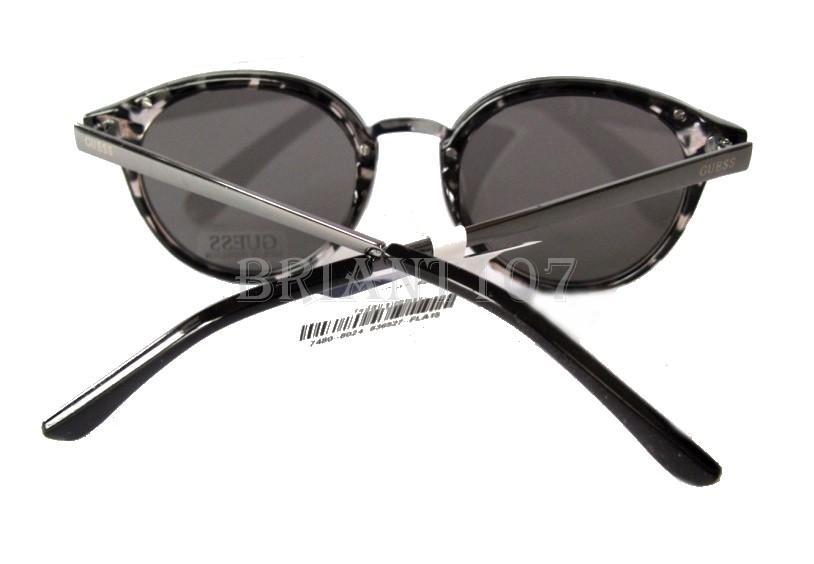 NWT GUESS GF0305 Unisex Sunglasses Granite//Silver mirror $68