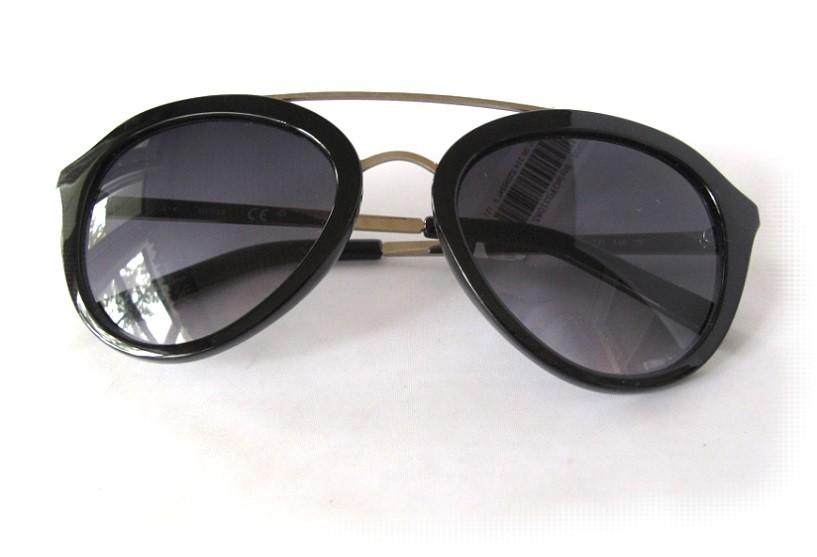 New GUESS GF0310 Black//Purple Womens Sunglasses $75.00